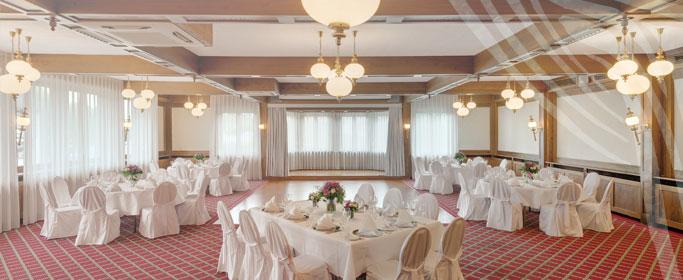 Ballsaal des Hotel HOERI am Bodensee