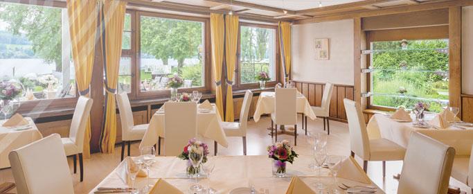 Fischerstube des Hotel HOERI am Bodensee
