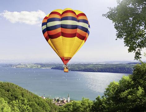 Heißluftballon am Bodensee Hotel HOERI