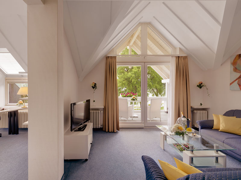 Zimmer Suite im Hotel HOERI am Bodensee