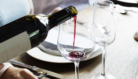 Erlesener Wein im Hotel HOERI am Bodensee