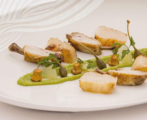 Kulinarisches Essen im Hotel HOERI am Bodensee
