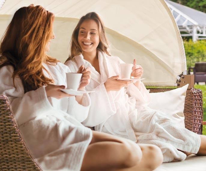 Angebot für beste Freundinnen im Hotel HOERI am Bodensee