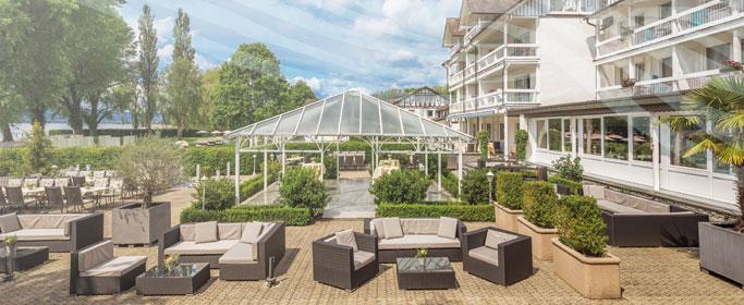Seelounge des Hotel HOERI am Bodensee