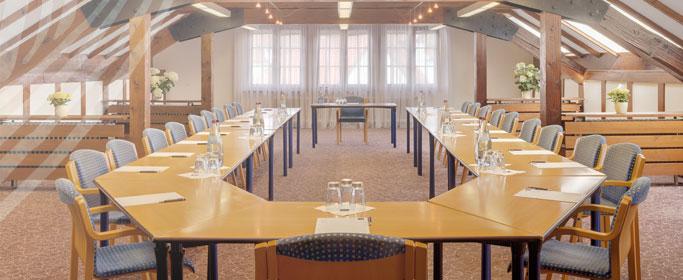 Giebelzimmer des Hotel HOERI am Bodensee