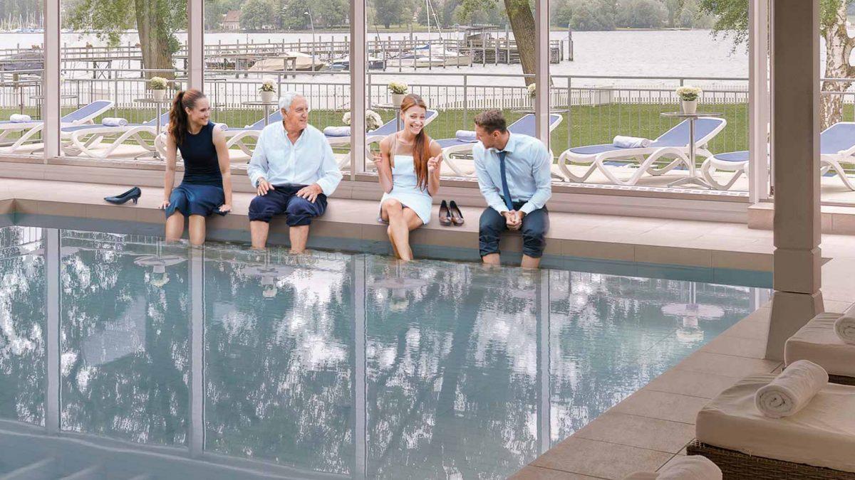 Tagungspause im HOERI Wellnesshotel am Bodensee