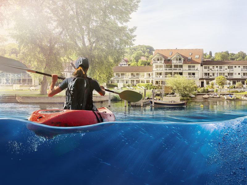 Wassersport am Bodensee Hotel HOERI