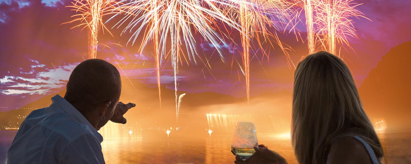 Feuerwerk beim Konstanzer Seenachtsfest | Seelektion des Hotel HOERI am Bodensee