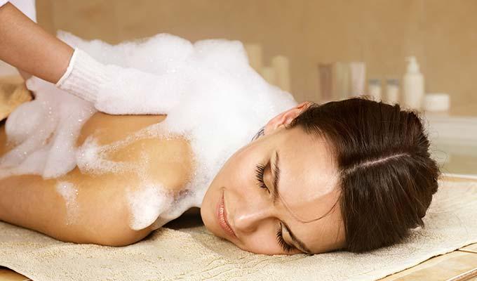 Seifenschaum Massage Hotel HOERI am Bodensee