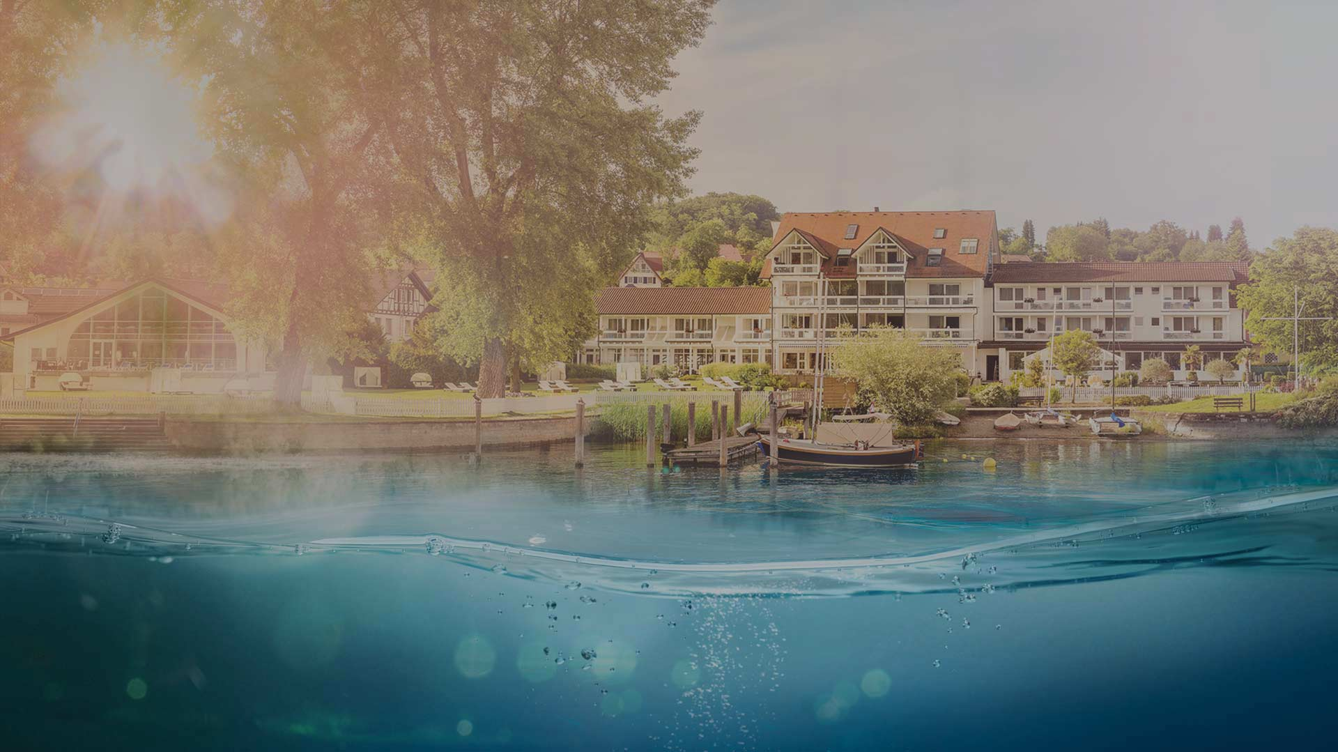 Blick vom See | Hotel HOERI am Bodensee