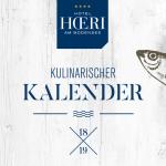 Kulinarischer Kalender Hotel HOERI