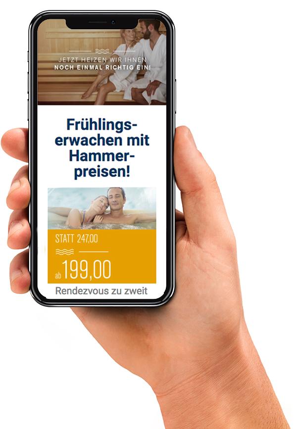 Newsletter auf Handy |Hotel HOERI am Bodensee