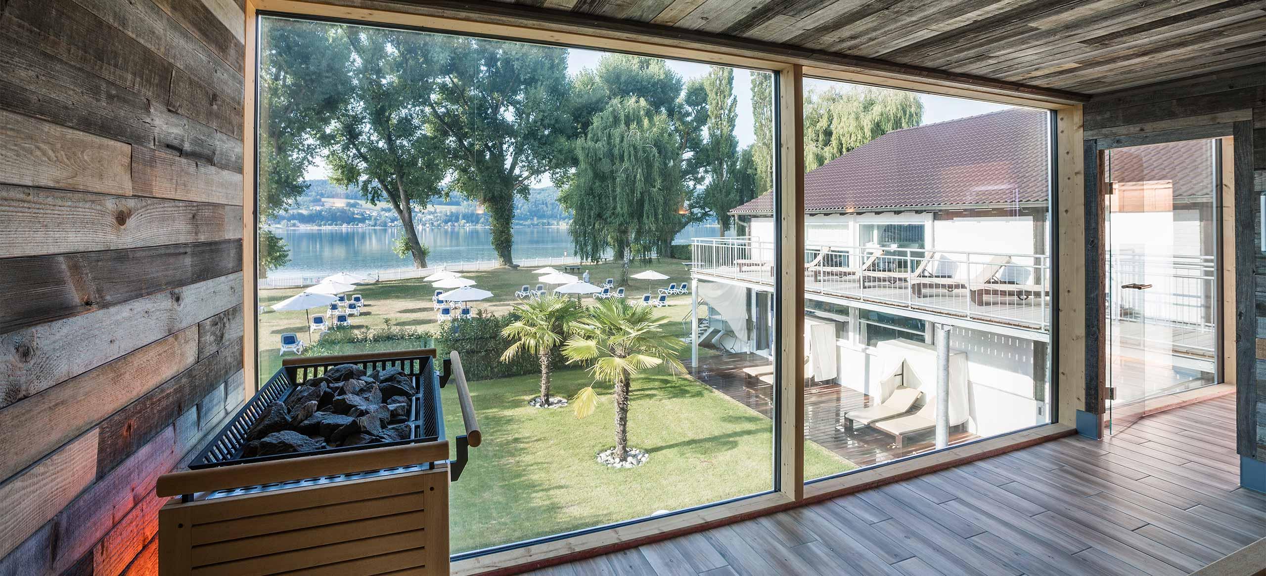 Wellnessbereich SEE SPA des Hotel HOERI am Bodensee