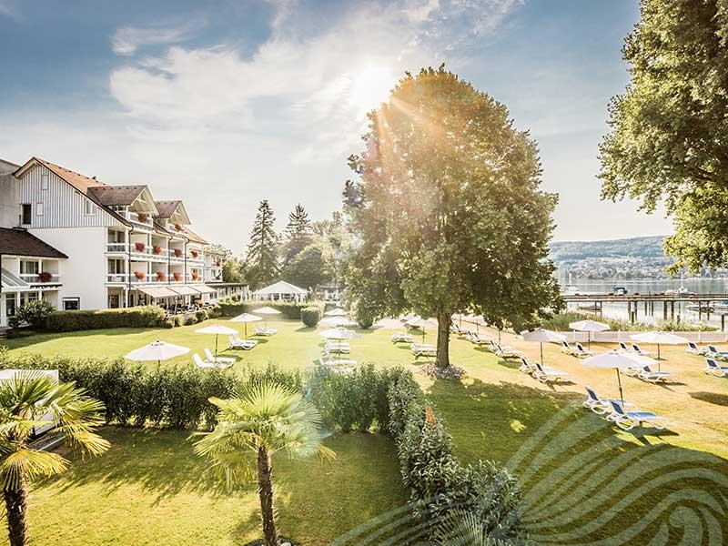 Aussicht des Hotel HOERI am Bodensee