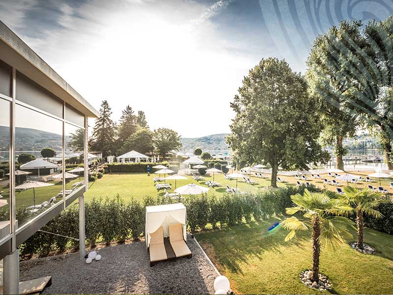 The 4 Star Hotel Hoeri In A Unique Backdrop Right By Lake Constance