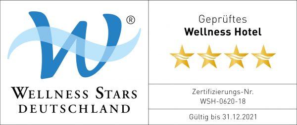 Wellness Stars Deutschland | Lizenzlogo Hotel Hoeri quer