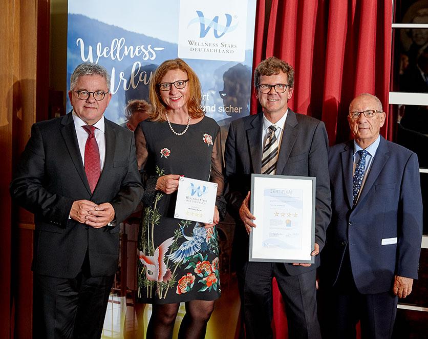 Wellness Stars Auszeichnung Hotel Hoeri am Bodensee