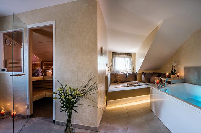 Spa Suite und Saune für Entspannung im Privaten