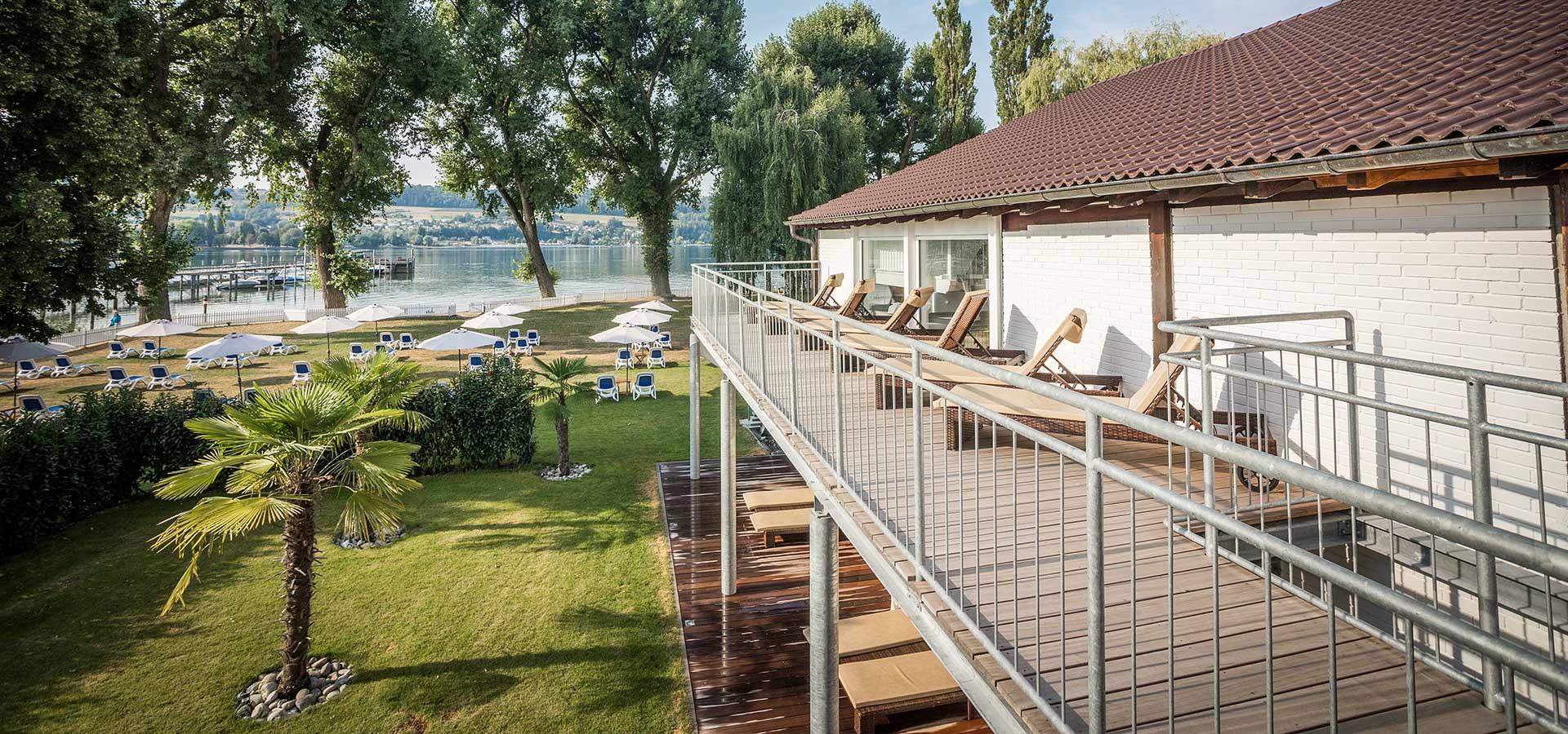 SEE SPA mit Aussenbereich im Wellnesshotel Hoeri am Bodensee