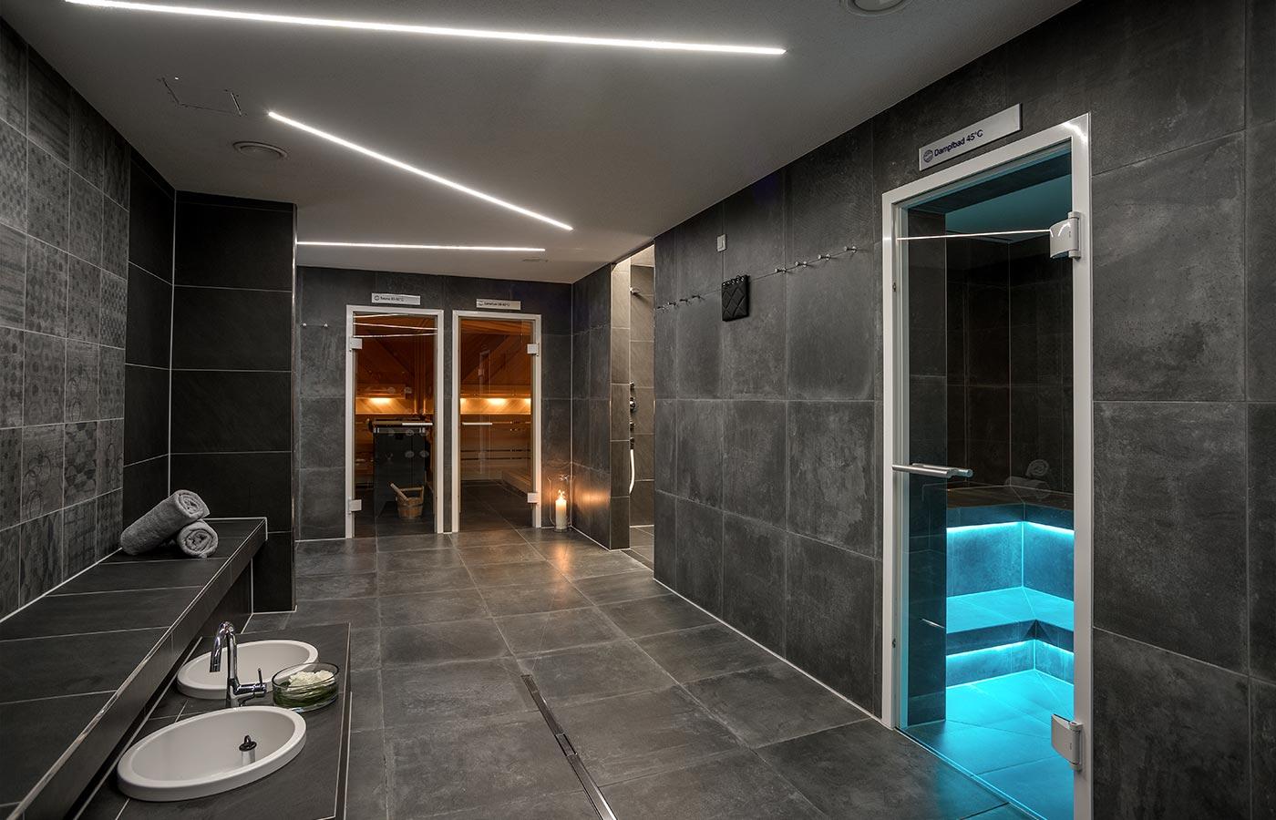 Sauna, Dampfbad und Wellness im Wellnesshotel am Bodensee