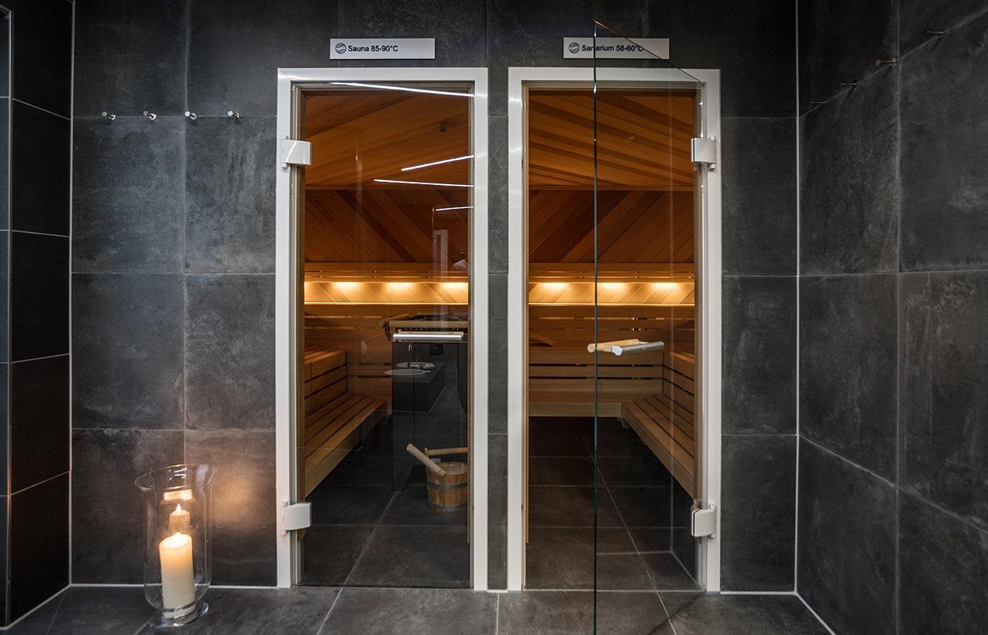 Wellness und Spa im Hotel Hoeri. Sauna und Sanarium neu im Spa!