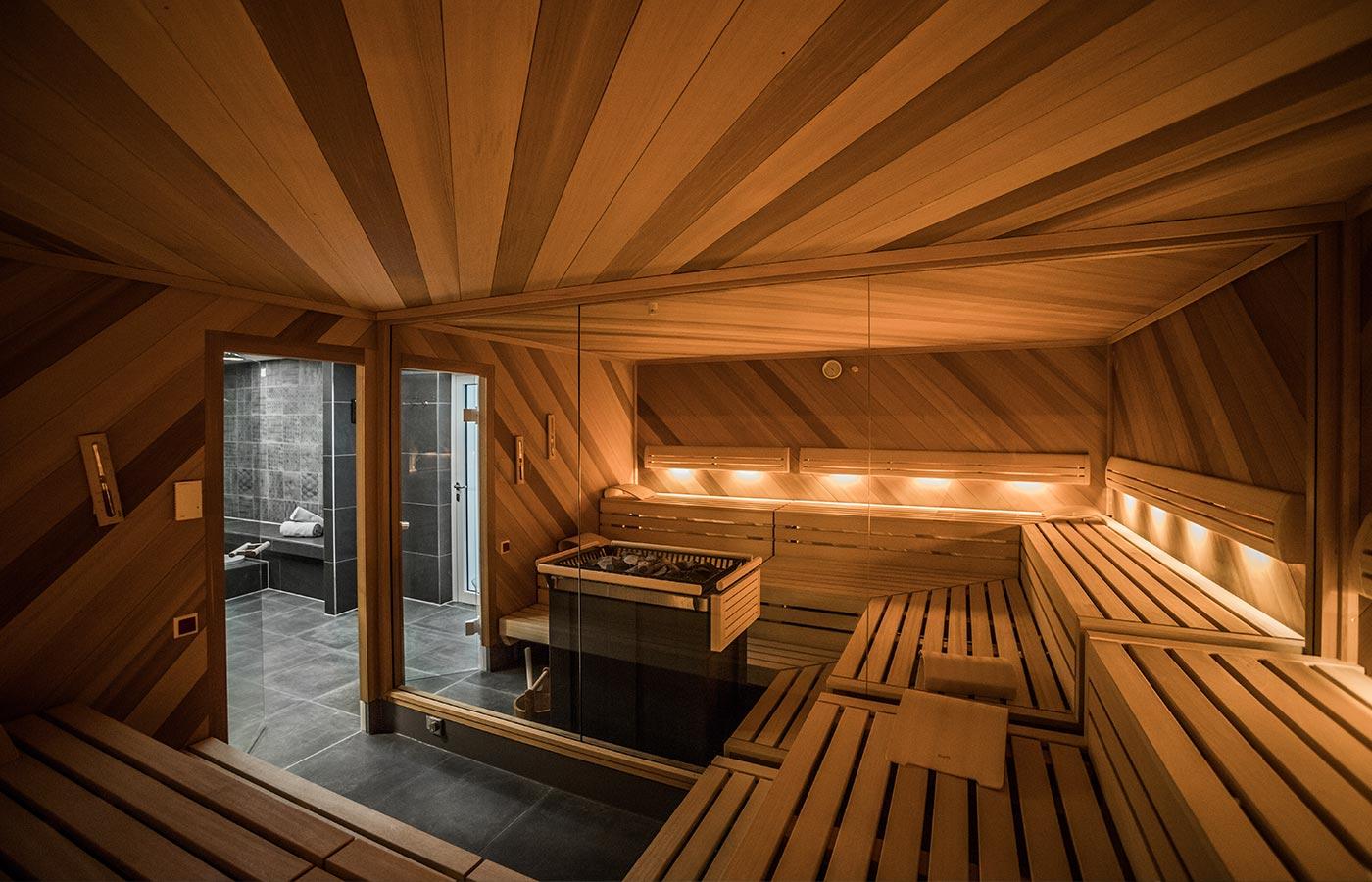 Sauna und Sanarium im Wellnesshotel Hoeri am Bodensee