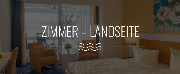 Zimmer Landseite Hotel Hoeri am Bodensee