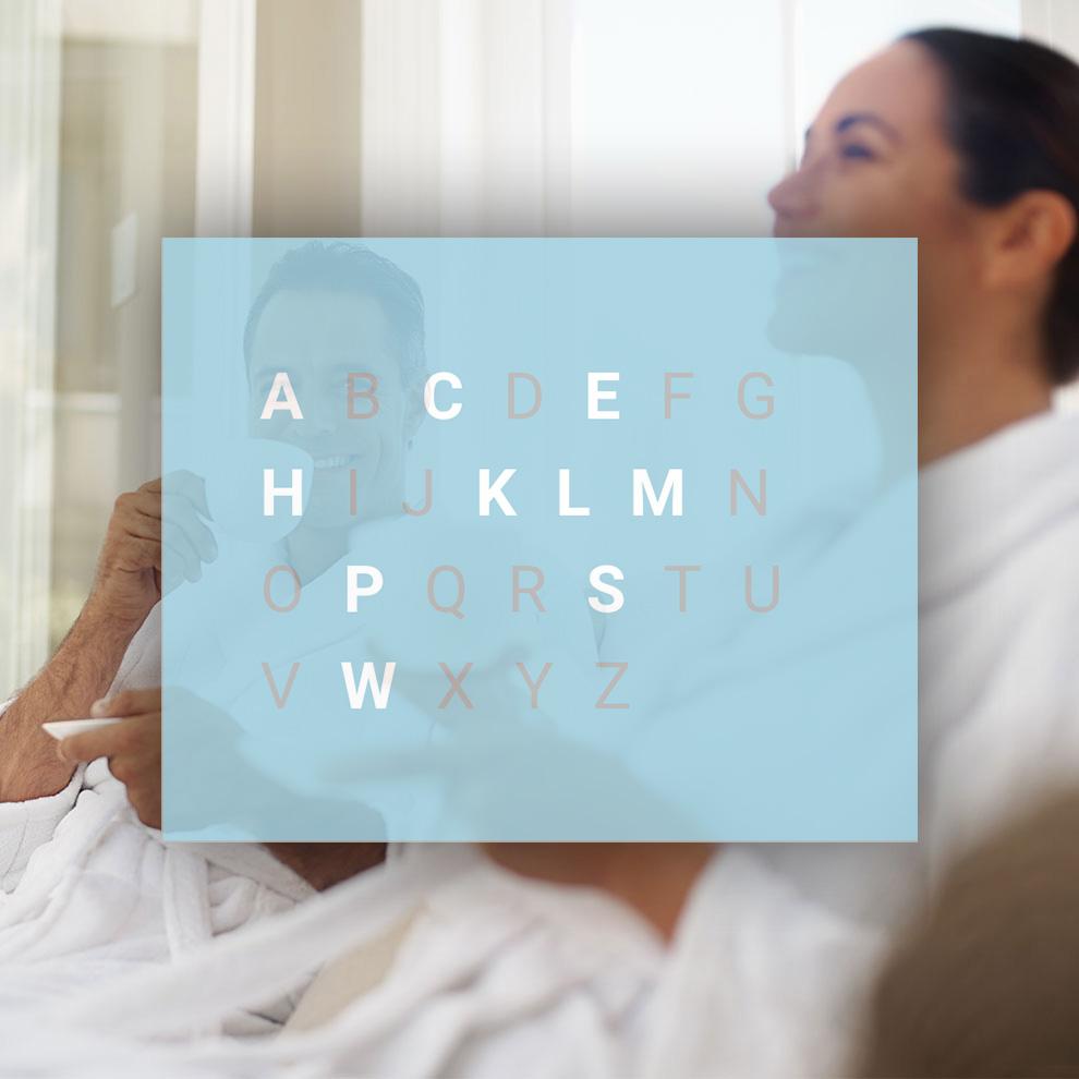 Wellnesslexikon |Begriffe von A-Z rund ums Thema Wellness und Spa
