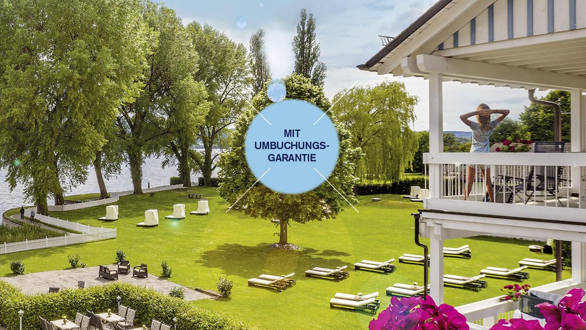 Urlaub 2021 im Hotel HOERI – dank Umbuchungsgarantie flexibel planen