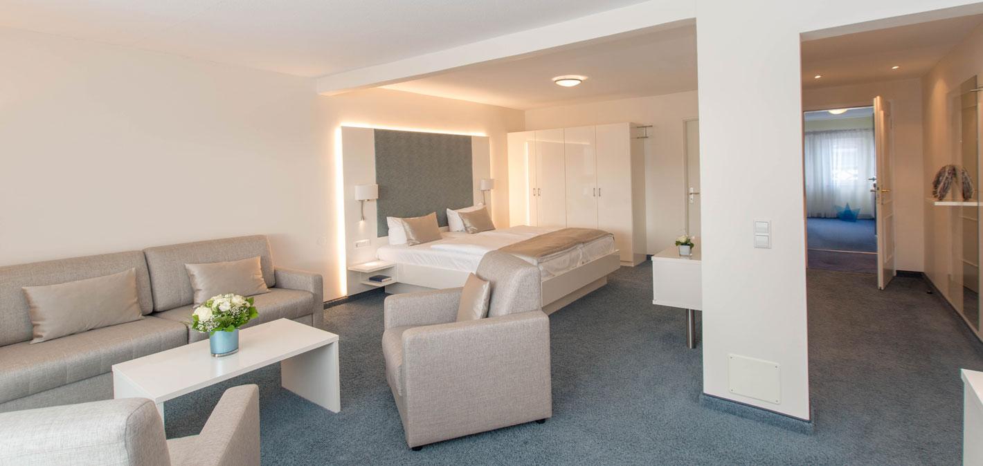 Suiten mit Seeblick am Bodensee | Hotel HOERI