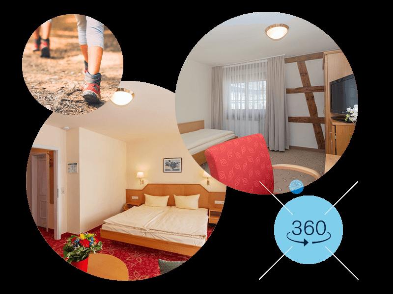 Unsere Zimmer und Suiten – jetzt als 360°-Tour