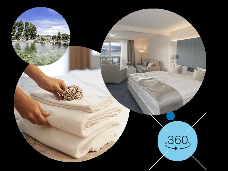 Entdecken Sie unsere Budgetzimmer als 360°-Tour