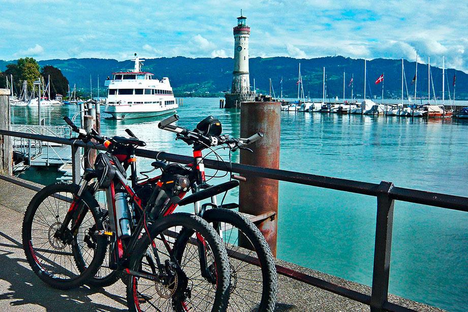 Radtouren um den Bodensee   Hotel HOERI am Bodensee